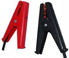 LOM-504 4端子重型Kelvin夹子